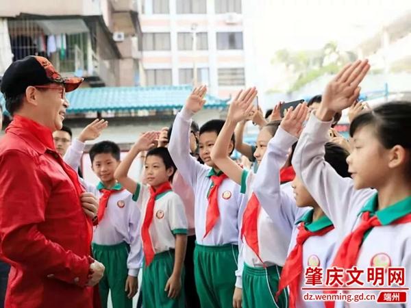 端州:国学经典进校园活动