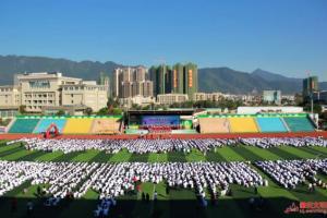 肇庆市工业贸易学校举办成人礼活动