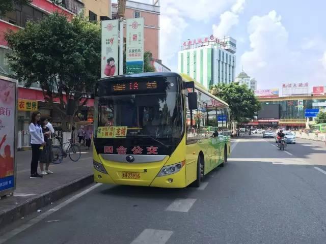 四会市:公共交通 文明出行