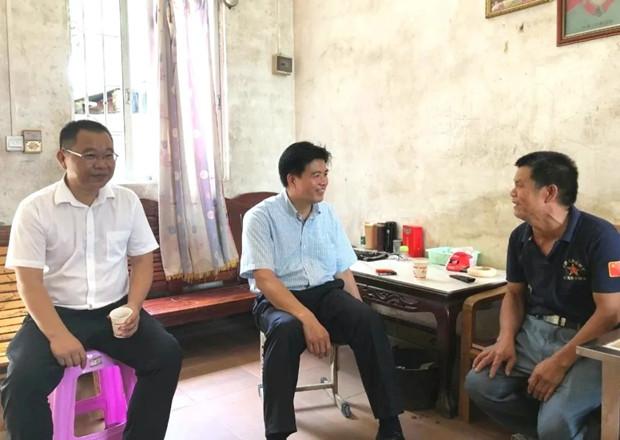 """肇庆市农业农村局开展""""八一""""走访联系退役军人活动"""