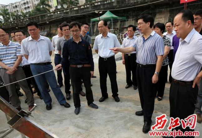 肇庆打造重点项目 全力以赴建设美丽肇庆
